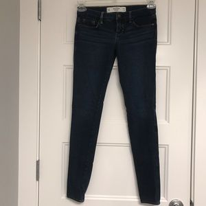Abercrombie & Fitch denim leggings